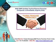 Best Pcd Pharma Franchise Companies in Ahmedabad, Gujarat