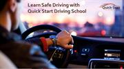 Learn Safe Driving in Sydney, NSW with Quick Start Driving School