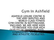 Affordable Gym in Ashfield