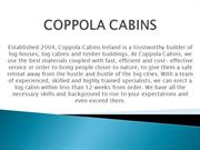 Log Cabins-Coppola Cabins