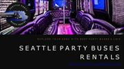 Seattle Wedding Limo Bus Services