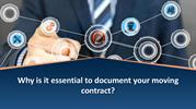 Why is it essential to document your moving contract