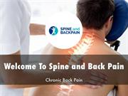 Spine and Back Pain Presentations