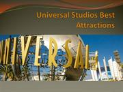 Universal Studios Best Attractions