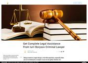 Borysov Iurii - What does criminal defense lawyer do