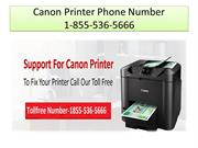 Canon Printer Phone Number + 1-855-536-5666