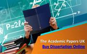 The Academic Papers UK - Buy Dissertation Online
