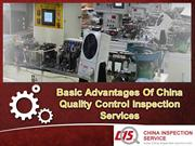 Basic Advantages Of China Quality Control Inspection Services