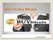 How to buy Bitcoin (trial)