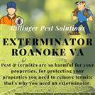 Exterminator Roanoke VA | Killinger Pest Solutions