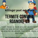 Termite Control Roanoke VA | Killinger Pest Solutions