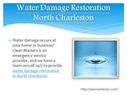 water damage restoration North Charleston