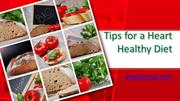 Tips for a Heart Healthy Diet