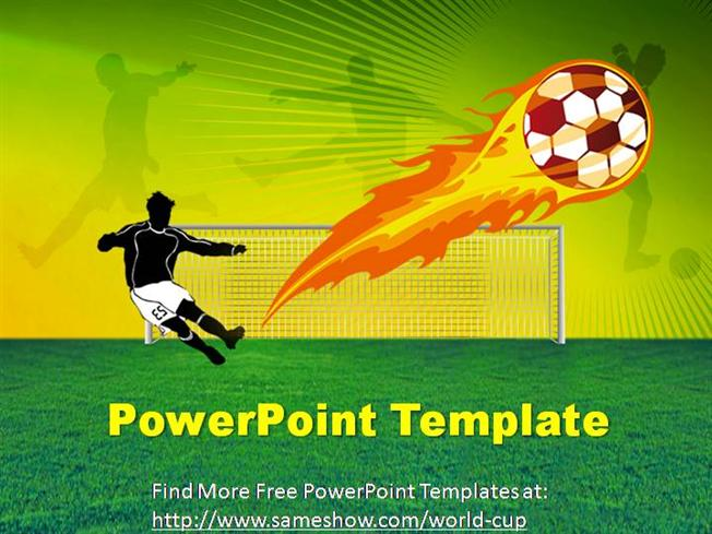 Free world cup powerpoint template authorstream toneelgroepblik Images