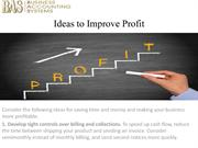 Ideas to Improve Profit-converted