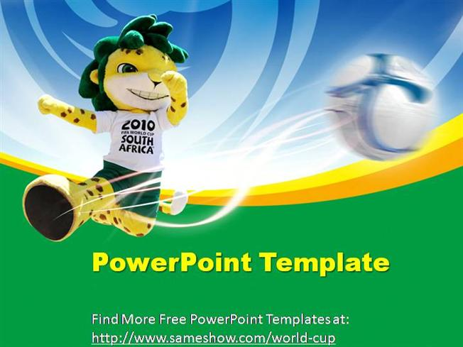 Free world cup powerpoint template authorstream toneelgroepblik Image collections