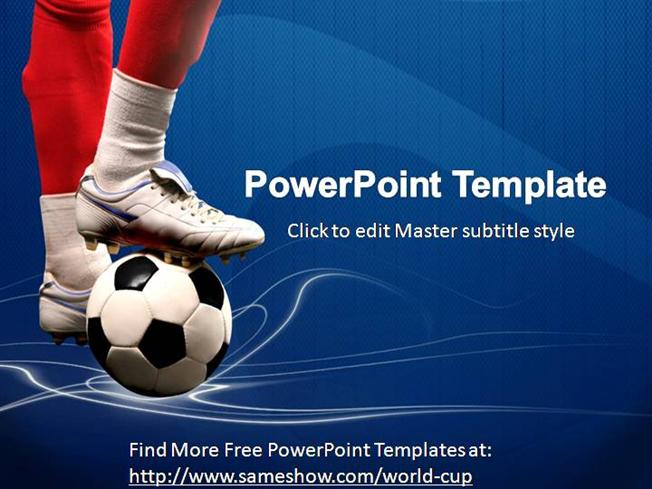Free World Cup Powerpoint Template Authorstream