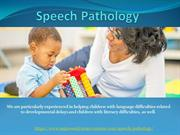 Speech Pathology | Aspire Early Intervention
