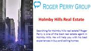 Holmby Hills Real Estate