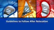 Guidelines to Follow After Relocation