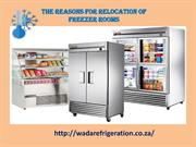 The Reasons for Relocation of Freezer Rooms-converted