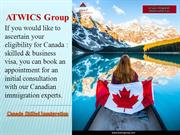 Canada Skilled Immigration - Atwics group