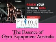 Buy the wide range of Gym equipment Australia for your home