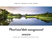 pond and lake management service at Smith creek fish farm