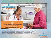 Study MBBS in Kyrgyzstan with Admission Advisor