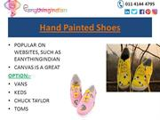 Hand Painted Shoes - Buy Hand Painted Shoes online at Eanythingindian
