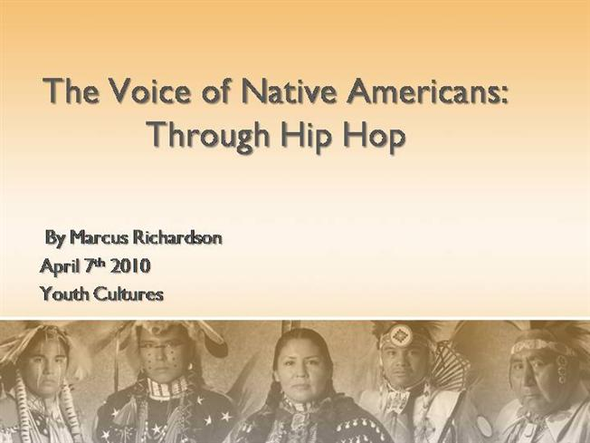 native american hip hop- youth culture |authorstream, Modern powerpoint