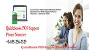 QuickBooks POS Support Phone Number +1-855-236-7529