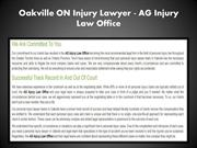 Personal Injury Lawyer Oakville