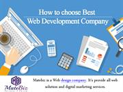 Affordable web design services with best professionals at MATEBIZ