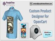 Opencart custom product designer Extension by PurpleTree Software
