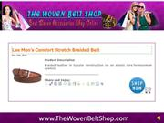 the woven belt shop home