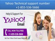 1-855-536-5666 Yahoo Technical support number