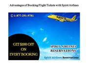 Advantages of Booking Flight Tickets with Spirit Airlines