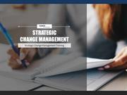 Take High Impact Strategic Change Management Training - Tonex Training