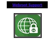 Webroot Support - Install Webroot Antivirus on your System