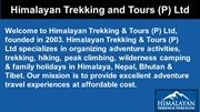 Book Family Tour and Travel Packages | Himalayan Trekking and Tours