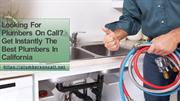 Plumbers On Call - Plumbers in California