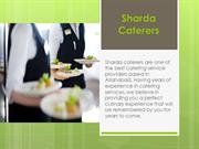 Sharda Caterers ppt