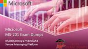 MS-201 Exam Dumps - MS-201 study guide | Realexamdumps.com
