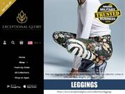 Exceptional Glory Leggings Collection - Shop for legging