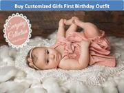 Buy Customized Girls First Birthday Outfit - 1st birthday dresses