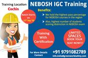 Join Nebosh IGC Safety Course Training in Cochin