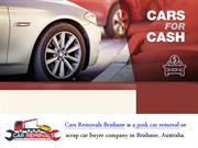 Sell your Scrap Cars For Cash To Cars Removals