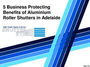 5 Business Protecting Benefits of Aluminium Roller Shutters in Adelaid