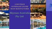 Australia Best Quality Balcony Roof